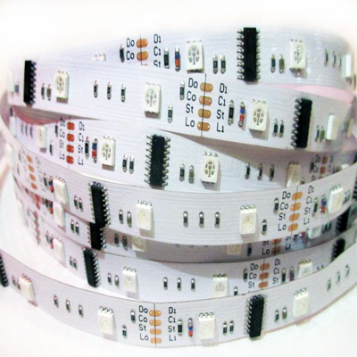 DC12V 30leds LPD6803 addressable led strip