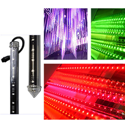 SPI 3D led tube Each LED Individual