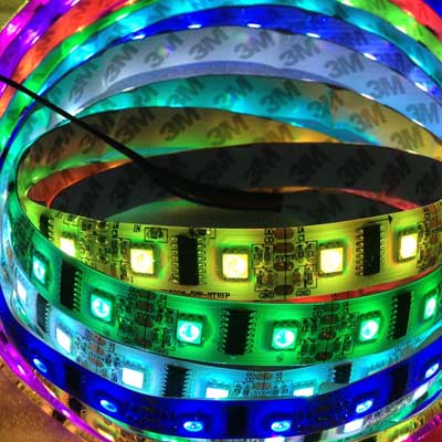 60leds LPD8806 dream color led strip