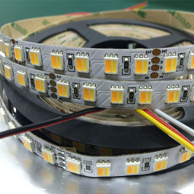3 Colors in 1 SMD 5050 WWR led strip