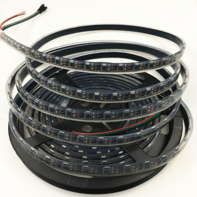 Side view Addressable WS2811 020 RGB LED Strip