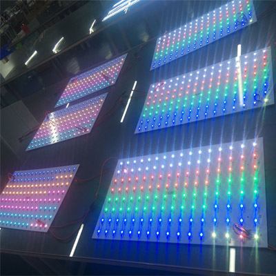 addressable rectangle led panel